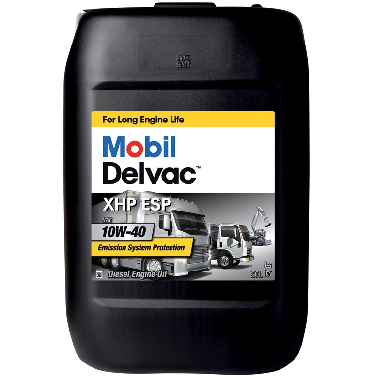 Mobil - Delvac XHP ESP M 10W-40 моторное масло
