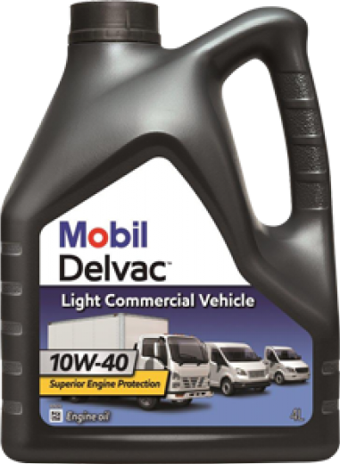 Mobil - Delvac Light Commercial Vehicle 10W-40 мoтoрнoe мacлo