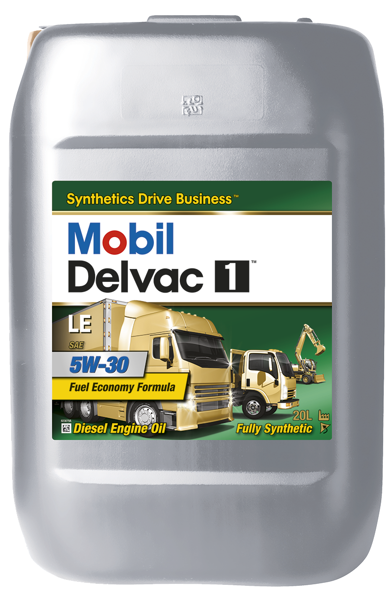 Mobil - Delvac 1 LE 5W-30 моторное масло