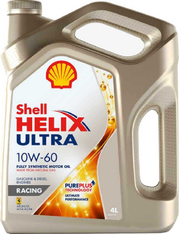 Shell - Helix Ultra Racing 10W60 Моторное масло