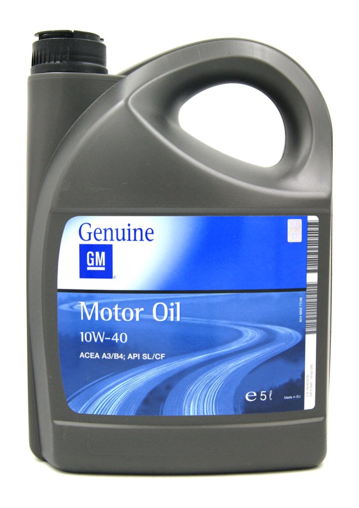 GM - Semi Synthetic 10W-40 Мoтoрнoe мacлo 1942046