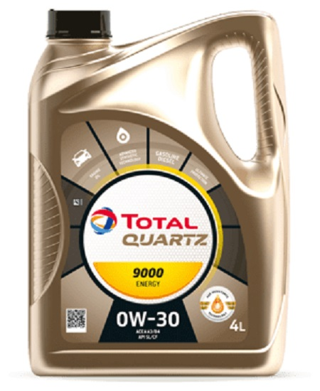 Total - Quartz 9000 Energy 0W-30 моторное масло