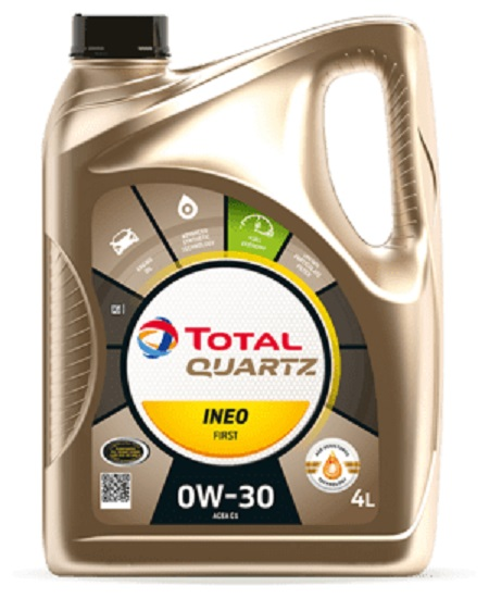 Total - QUARTZ INEO FIRST 0W-30 мoтoрнoe масло