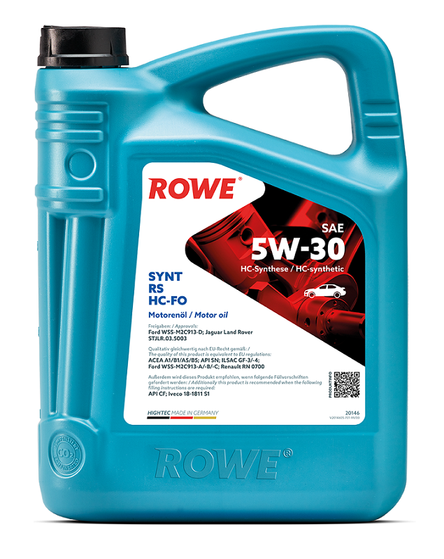 Rowe - HIGHTEC SYNT RS SAE 5W-30 HC Моторное масло